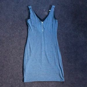Blue dress size m